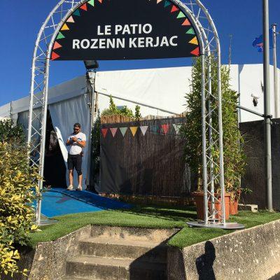 Signalétique pour les Francofolies de La Rochelle