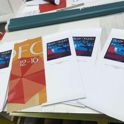 Totes bags 100% rochelais réalisés pour la 32ème édition des Francofolies