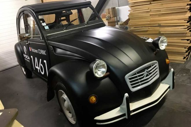 Covering complet 2CV Ebac
